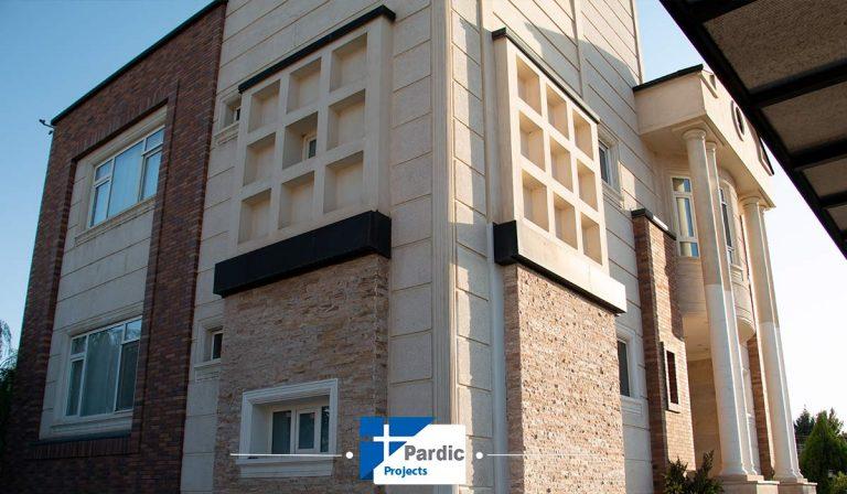 پروژه upvcرها آلمان درب و پنجره دوجداره در تهران آقای مهندس سردهی