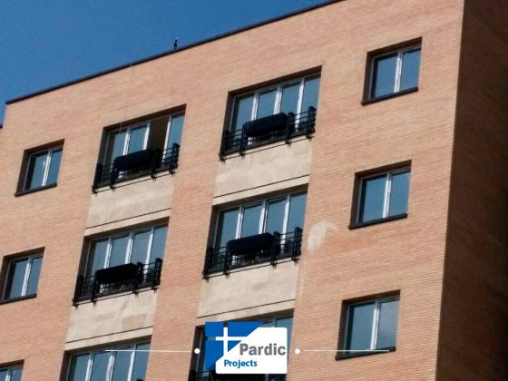 پاردیک وین -پروژه درب و پنجره دوجداره upvc وینتک