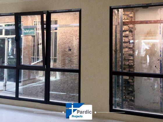 پروژه درب و پنجره پروفیل وینتک-ویستابست-جی یو-پاردیک تولید کننده درب و پنجره