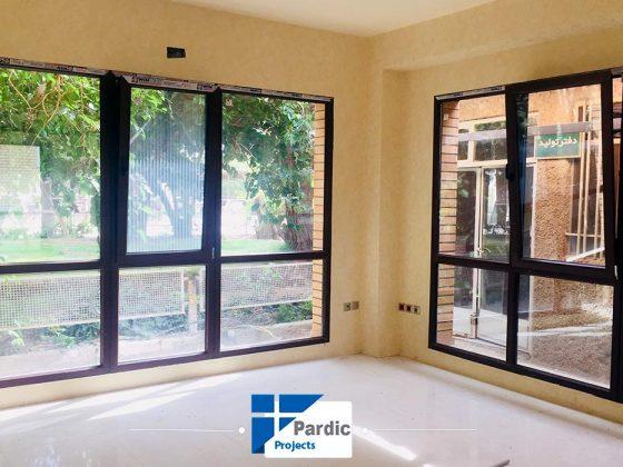 پروژه در و پنجره پروفیل وینتک-ویستابست-جی یو-پاردیک تولید کننده درب و پنجره