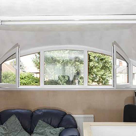 Pardicwin upvc-tilt & turn windows and doors-white arched