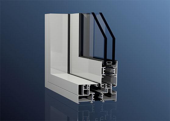 درب و پنجره دوجداره آلومینیومی اختصاصی وترمال بریک gaواکپا و اکرول