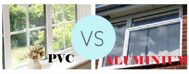 تفاوت درب و پنجره الومینیوم و یوپی وی سی