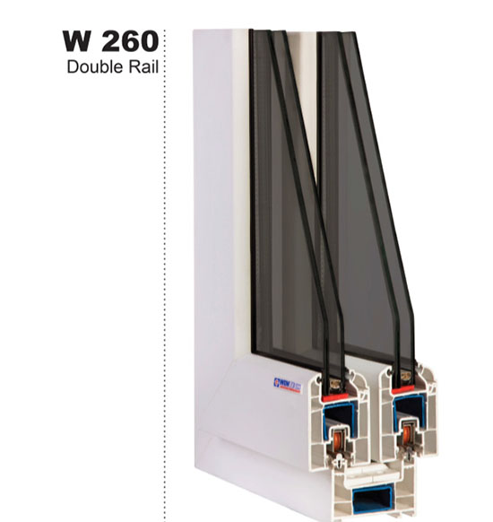 pardicwin-wintech w260-buy wintech profiles-esfahan-tehran-mashhad-sliding upvc windows and doors
