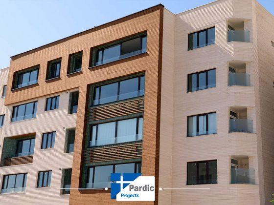 پروژه درب و پنجره دوجداره 5چمبر اصفهان