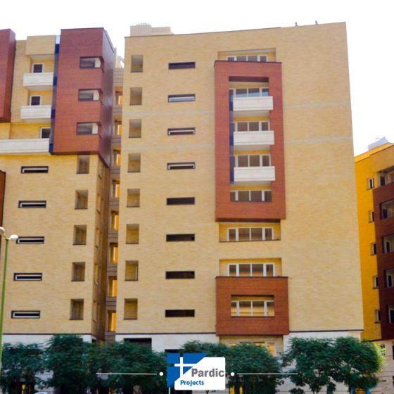 پاردیک وین-پروژه زاینده رود شرکت توسعه مسکن اصفهان-درب و پنجره دوجداره upvcپروفیل رها آلمان