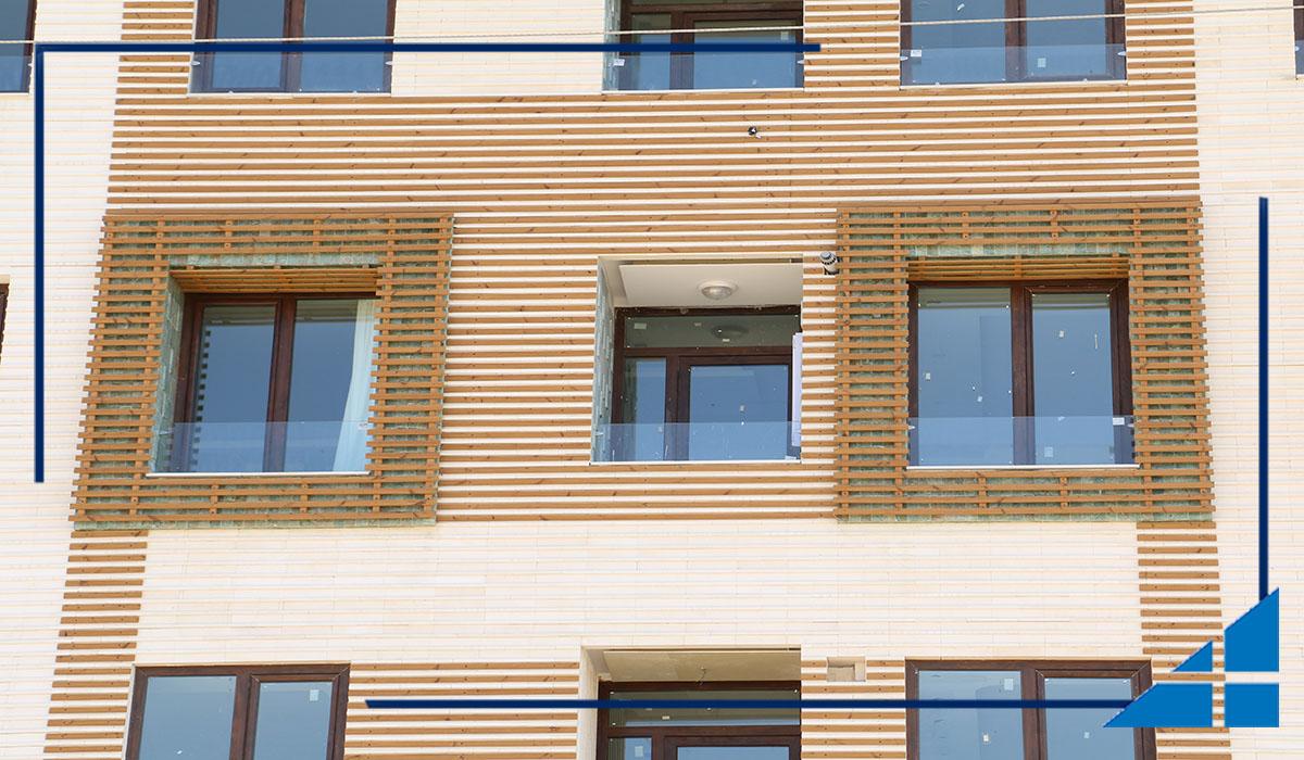در و پنجره دوجداره uPVC