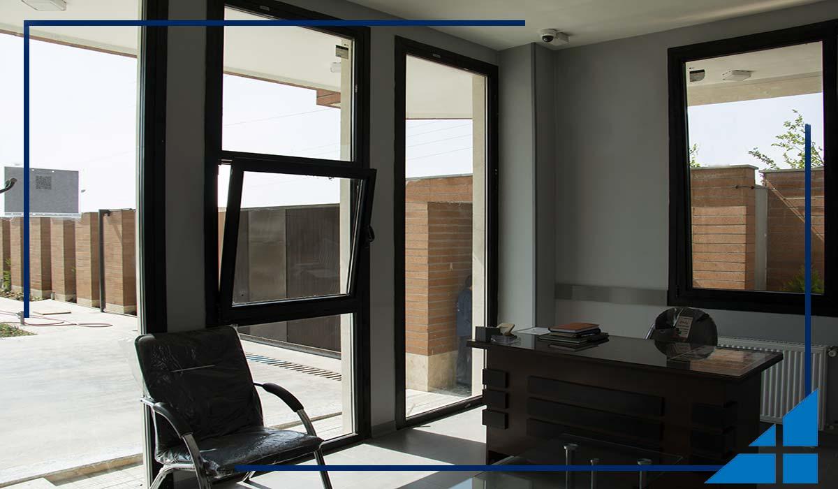 درب و پنجره دوجدار آلومینیوم ترمال بریک گلوب آلوم